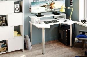 Геймерский стол светлый - Мебельная фабрика «МЭРДЭС»