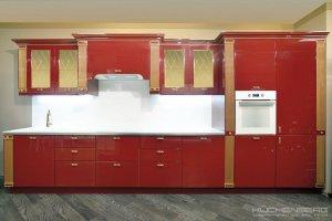 Глянцевая кухня BACCARAT LUX - Мебельная фабрика «KUCHENBERG»