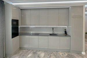 Глянцевая кухня Батиста - Мебельная фабрика «Виктория»