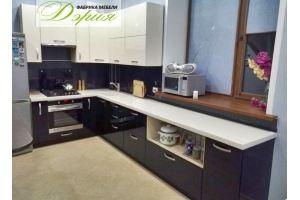Глянцевая кухня Модель 2 - Мебельная фабрика «Дэрия»