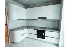 Глянцевая кухня пластик - Мебельная фабрика «Гранд Мебель»