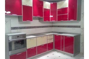 Глянцевая кухня в алюминиевой рамке - Мебельная фабрика «Мебель и Я»