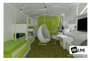 Гнутая мебель для детской - Мебельная фабрика «ARLINE»