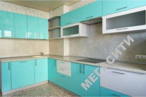 Голубая угловая кухня - Мебельная фабрика «Мега Сити-Р»