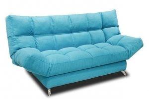Голубой диван Клик Кляк - Мебельная фабрика «Мебель на Черниговской»