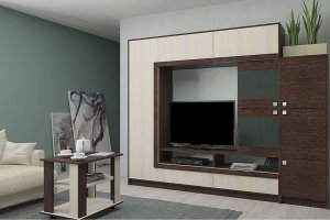 Горка в гостиную Г 11 - Мебельная фабрика «Ваша мебель»