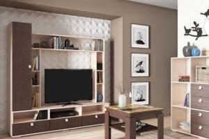 Горка в гостиную Г 15 - Мебельная фабрика «Ваша мебель»