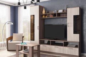 Горка в гостиную Г 4 - Мебельная фабрика «Ваша мебель»