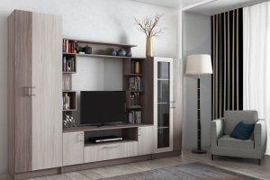 Горка в гостиную Г 7 - Мебельная фабрика «Ваша мебель»