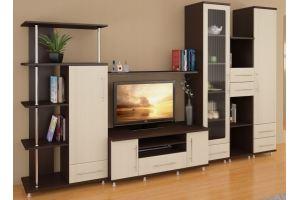 Горка в гостиную МС 17 - Мебельная фабрика «Алекс-Мебель»