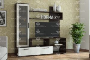 Госиная стенка Норма 2 - Мебельная фабрика «Росток-мебель»