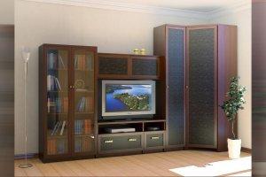 Гостиная 06 с угловым шкафом - Мебельная фабрика «Профит»
