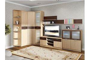 Гостиная 5 с угловым шкафом - Мебельная фабрика «SaEn»