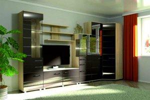 Гостиная угловая 7 - Мебельная фабрика «Фаворит»