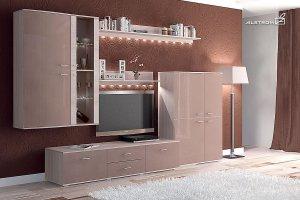 Гостиная Адель Капучино - Мебельная фабрика «Алстром»