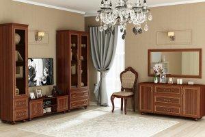 Гостиная Александрия New - Мебельная фабрика «Любимый дом (Алмаз)»