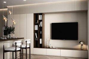 Гостиная светлая Altezza - Мебельная фабрика «Marka»