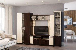 Гостиная Амалия ЛДСП - Мебельная фабрика «Террикон»