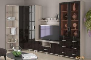 Гостиная Анастасия-3 - Мебельная фабрика «Уют-М»