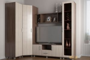 Гостиная Анастасия-4 - Мебельная фабрика «Уют-М»