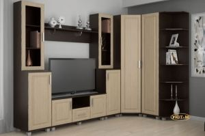 Гостиная Анастасия-5 - Мебельная фабрика «Уют-М»