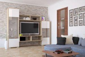 Гостиная Аризона Глосс 11 - Мебельная фабрика «Центр мебели Интерлиния»