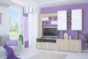 Гостиная Аризона Глосс 2 - Мебельная фабрика «Центр мебели Интерлиния»