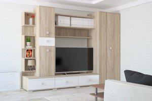 Гостиная Аризона Глосс 4 - Мебельная фабрика «Центр мебели Интерлиния»