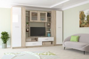 Гостиная Аризона Глосс 5 - Мебельная фабрика «Центр мебели Интерлиния»