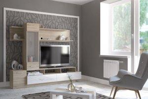 Гостиная Аризона Глосс 8 - Мебельная фабрика «Центр мебели Интерлиния»