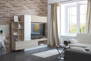 Гостиная Аризона Глосс 9 - Мебельная фабрика «Центр мебели Интерлиния»