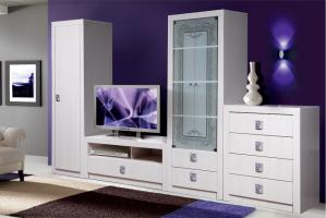 Гостиная Багира  КМК 0407 - Мебельная фабрика «Калинковичский мебельный комбинат»