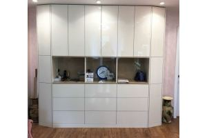 Гостиная Белая - Мебельная фабрика «РОСТИСЛАВ»