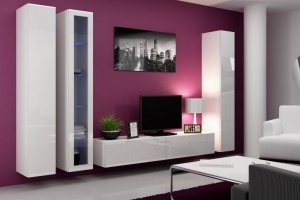 Гостиная белая 9 - Мебельная фабрика «Вертикаль»
