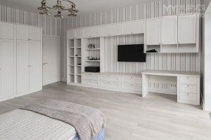 Гостиная белая большая - Мебельная фабрика «Маруся Мебель»
