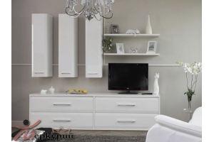 Гостиная белая Дороти - Мебельная фабрика «Меркурий»