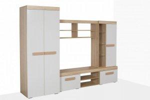 Гостиная белая глянец Нота - Мебельная фабрика «Милан»