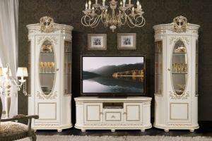 Гостиная белая Виола - Мебельная фабрика «Слониммебель»