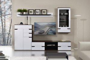 Гостиная БРАВО белый глянец - Мебельная фабрика «Заречье»
