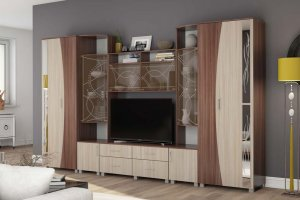 Гостиная мебель ЛДСП Бриджит - Мебельная фабрика «ДиВа мебель»