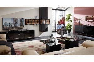Гостиная черная Leonardo - Мебельная фабрика «Möbel&zeit»