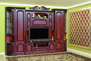 Гостиная Деметра Орех - Мебельная фабрика «Кубань-мебель»