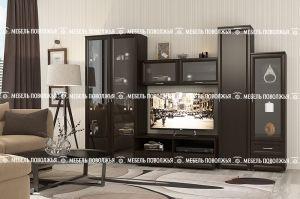 Гостиная Эдем цвет венге - Мебельная фабрика «Мебель Поволжья»