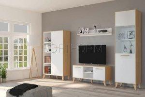 Гостиная Эрика в скандинавском стиле - Мебельная фабрика «СОФТФОРМ»