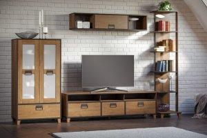 Гостиная Эссен в индустриальном стиле - Мебельная фабрика «Woodcraft»