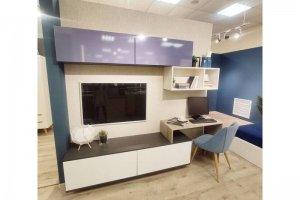 Гостиная Фреш с рабочим местом - Мебельная фабрика «Эстель»