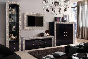 Гостиная глянцевая Тиффани премиум - Мебельная фабрика «Ярцево»