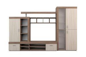 Гостиная горка Торонто 1 0004 - Мебельная фабрика «Аллоджио»