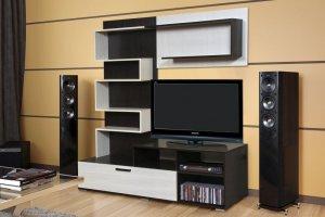 Гостиная ЛДСП Интеро - Мебельная фабрика «ДиВа мебель»