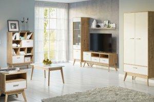 Гостиная из дерева Нордик - Мебельная фабрика «Woodcraft»